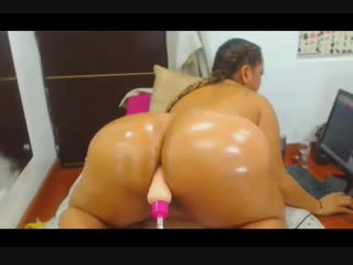 Latina vs machine pt.1 - big ass butts booty tits boobs bbw pawg curvy mature milf