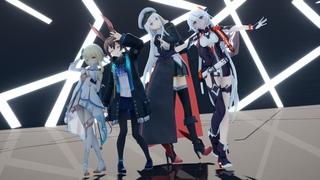 【AL, AK, GI, HI3 MMD】 Daichi Miura - Turn Off The Light 【Happy New year!!】