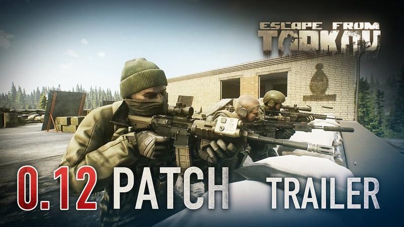 Escape from Tarkov Beta 0.12 Patch trailer featuring Rezerv Base