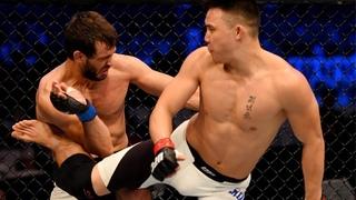 Самые сумасшедшие финиши с разворота в UFC