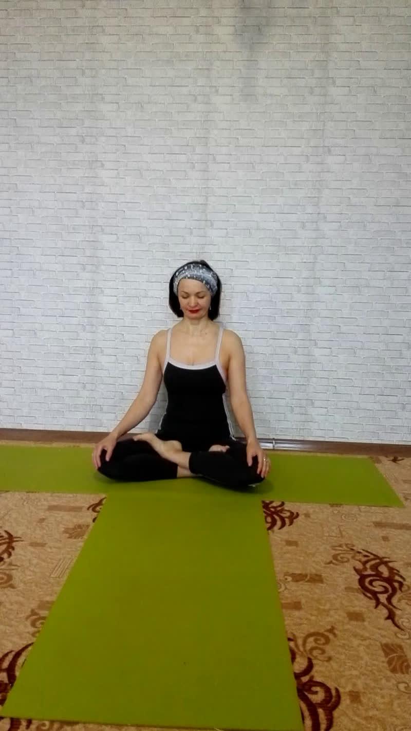 Утренняя практика хатха йоги