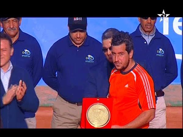 Теннис. Марокко Теннис Тур 2015. Одиночный разряд. Финал. Ламин Уахаб (Марокко) - Хавьер Марти (Испания)