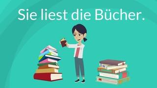 Deutsch lernen / Wann benutzt man den Akkusativ? / bestimmte und unbestimmte Artikel