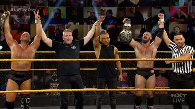 AEW Dynamite и NXT 11.11.20, изображение №22
