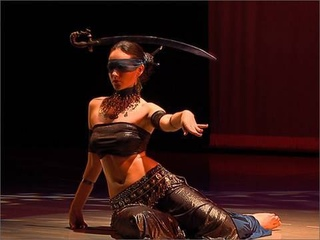 "Irina Akulenko - ""Justice"" from ""Tarot - Fantasy Belly Dance"" DVD -"