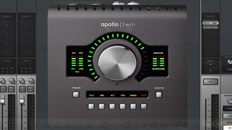 Groove3 UA Apollo and Console Application Explained