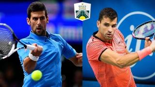 Novak Djokovic Rallies To Defeat Grigor Dimitrov   BNP Paribas Masters 2016 R3