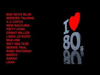 EuroDisco Hits 7676786880s - V.9 (Bad Boys Blue, Modern Talking,, Patty Ryan, Grant Miller..)