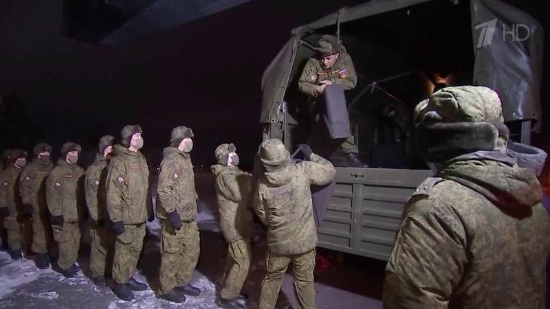 ВКрыму развернут два мобильных военных госпиталя для лечения пациентов сCOVID 19