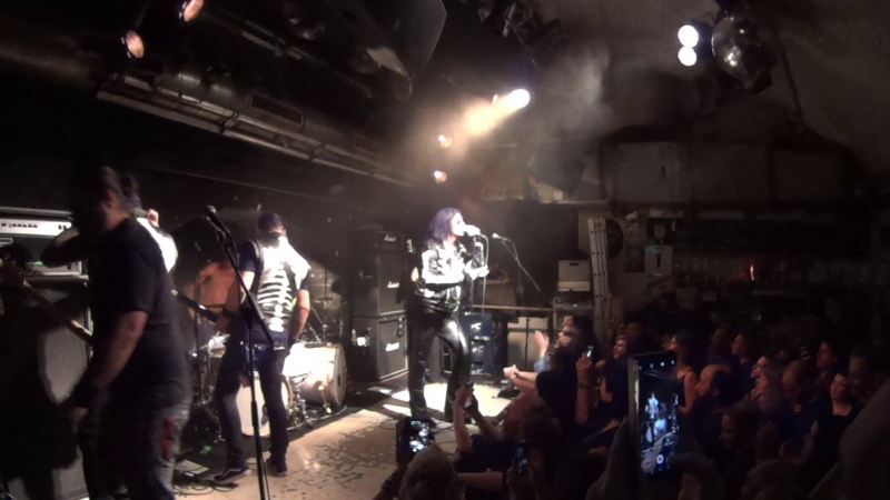 The 69 Eyes Jyrki69 Speeks To The Fans Live @ Chelsea Vienna Austria 14 11 2019