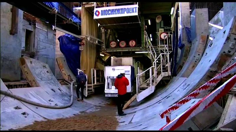 Щиты Лилия и Надежда начали проходку двух тоннелей Большой кольцевой линии ТПМК