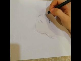 Как нарисовать лошадь ручкой? 🎨