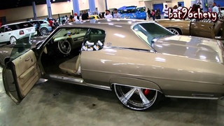 """Light Brown 73 Caprice Donk on 26"""" Forgiato BRUSHED Wheels - 1080p HD"""