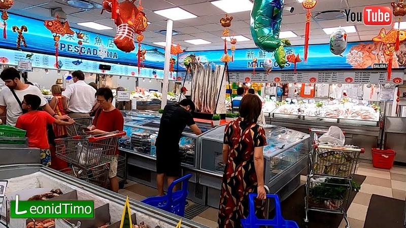 Китайские супермаркеты в Буэнос-Айресе, чего там только не продают.