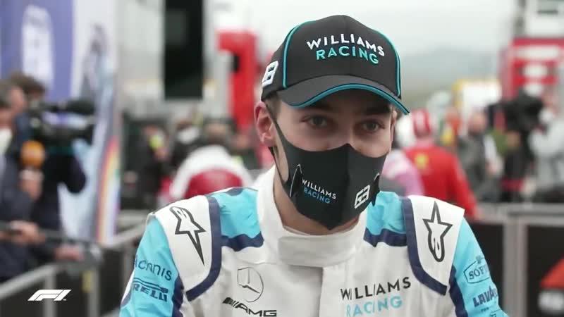 George said he felt a bit like Pastor Maldonado Up next winning a race and then dipping 😎 PortugueseGP