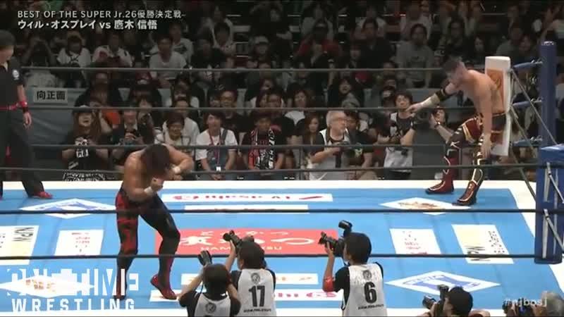 Will Ospreay vs Shingo Takagi BOSJ FINAL 2019