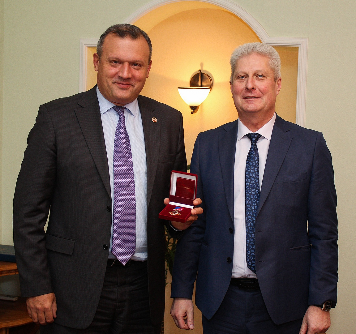 Делегация из Краснодона посетила с ответным визитом Донецк