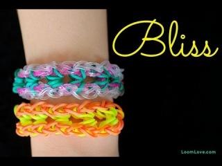 """Этот браслет называется """"Блаженство"""". Попробуем сплести с помощью  Rainbow Loom"""