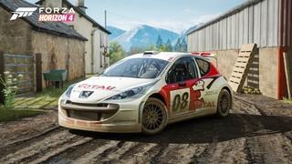 [ Стрим ] Forza Horizon 4  - 33  обновление и новая машина Peugeot 207 Super 2000! Получаем с KOMBAT