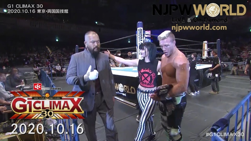 A new faction is born Ospreay abandons CHAOS G1 CLIMAX30