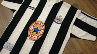 Newcastle United 1995/97 Home Adidas Original