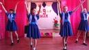 Танец Синий платочек в Тимофеевке