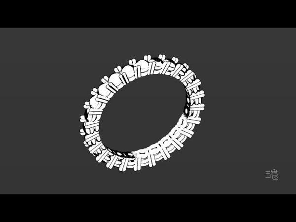 Blender珠寶3D建模主題教學002:鑽石圈戒/Blender Jewelry Design 3D Modeling Tutorial 002