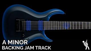 Andy James Inspired Modern Metal Ballad Guitar Backing Track Jam in A Minor / C Major   75 BPM