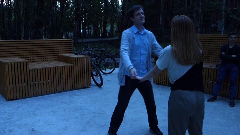 Танцы в Мичуринском парке г.Сыктывкара 08.07.2018 - 06 - Bachata Rosa - Noel Schajris