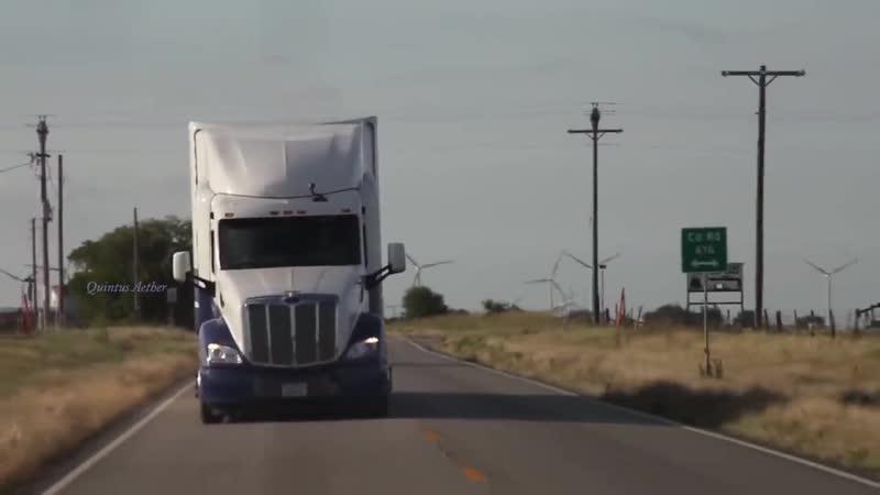 Music clip Italo Disco Peterbilt Truck