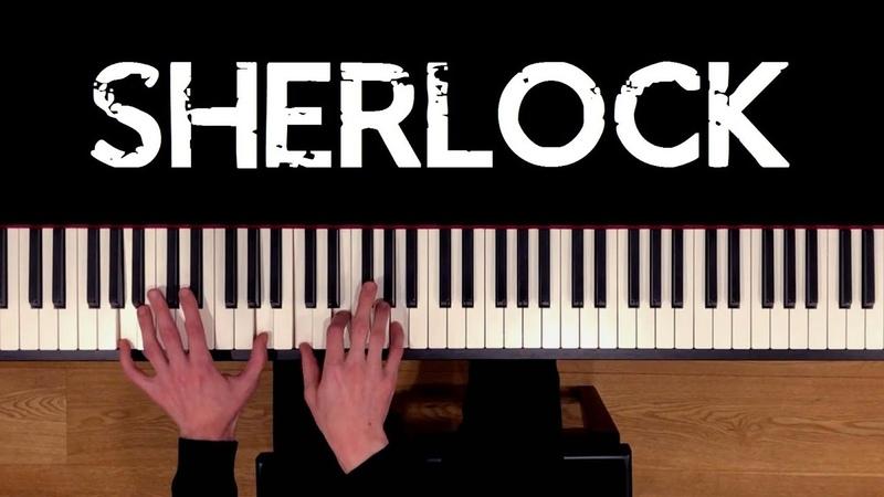 Sherlock SHERlocked Irene Adler's Theme Piano Cover sheets