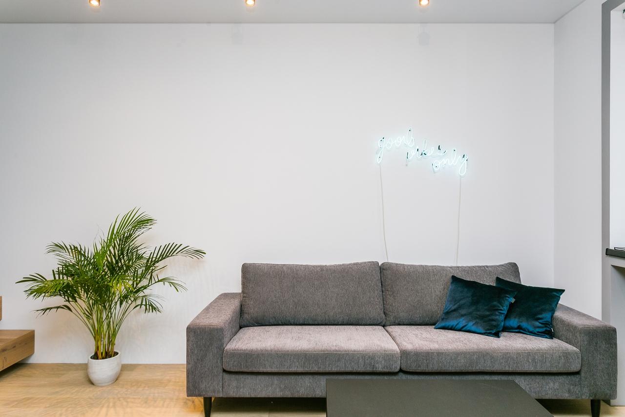 Дизайн и ремонт квартиры в стиле лофт площадью 50 м² в ЖК Савеловский