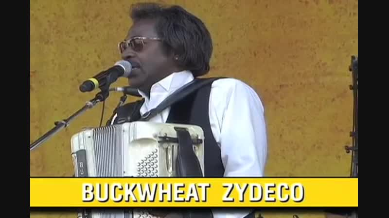 Buckwheat Zydeco at the 2007 New Orleans Jazz Heritage Festival