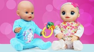 Развивающие игрушки для малышей. Играем с Беби Бон и Беби Элайв.