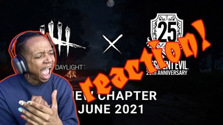 Resident Evil x Dead by Daylight Reveal Live Reaction!
