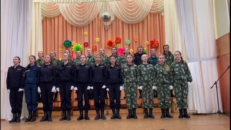 Гимн РФ Женский взвод ИКК ИИ СПО