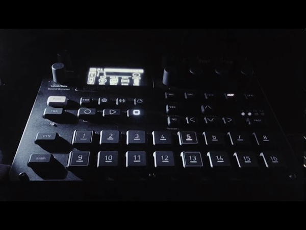 Electro hip hop Digi-Wu (elektron digitakt)