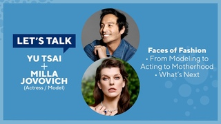 Let's Talk Live with Yu Tsai : Milla Jovovich and Ever Anderson