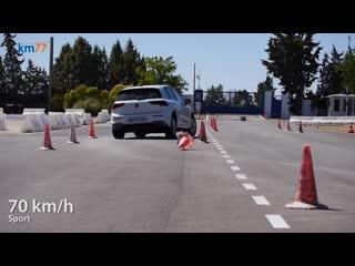 «Лосиный тест» нового Volkswagen Golf