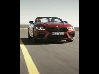 Новый bmw m8 competition cabrio.