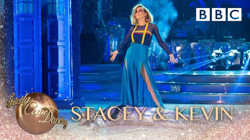 Stacey Dooley and Kevin Clifton Tango to 'Doctor Who Theme BBC Strictly 2018