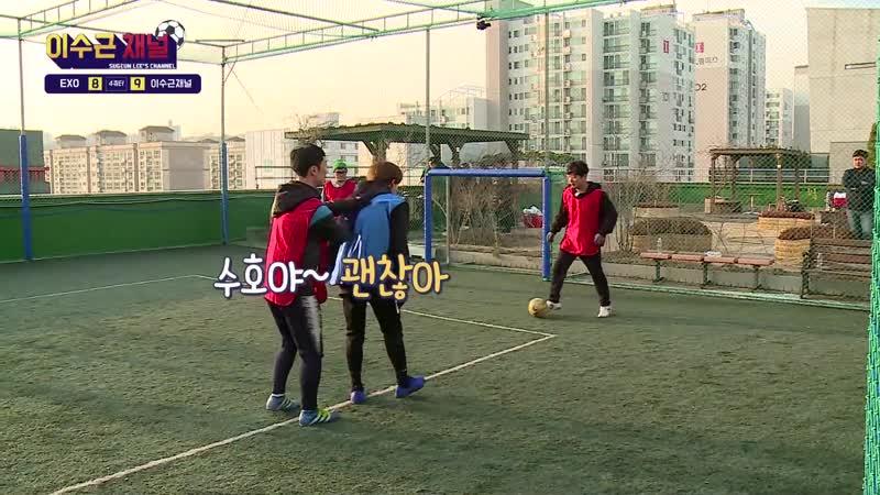 FULL 190130 Lee Soo Geun's Youtube Channel @ EXO's Xiumin Suho