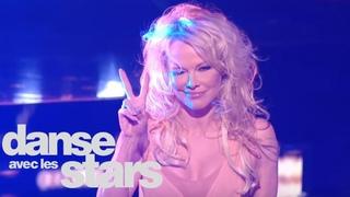 Sur un foxtrot, Pamela Anderson et Maxime Dereymez (Earth song) - DALS 9