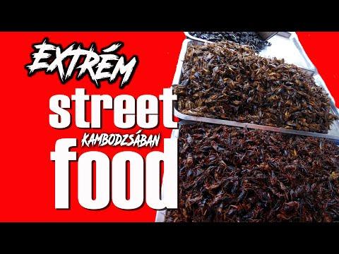 Ezt ne nézd meg, ha gyenge a gyomrod. Az igazi Khmer street food...(magyar felirat)