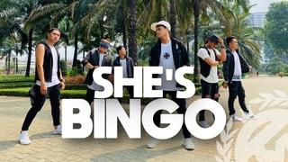 SHE'S BINGO by Luis Fonsi ft Nicole Scherzinger | Zumba | TML Crew Gio Garcia