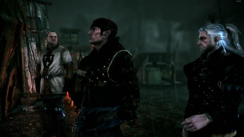 The Witcher 2 Assassins of Kings Enhanced Edition Ведьмак 2 Убийцы королей За Йорвета Часть 33 Побег из Флотзама