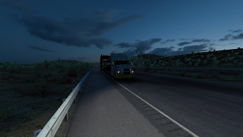 ▶️American Truck Simulator ► ATS ◄Перевозка негабаритных грузов◄