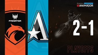 TNC Predator vs Team Aster   Animajor Playoffs Full Match Highlights