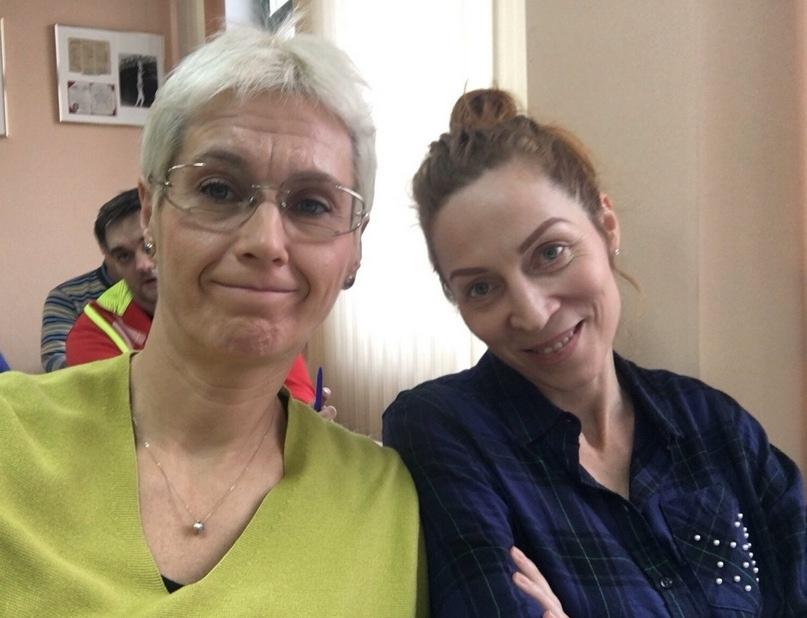 С Татьяной Ераминок