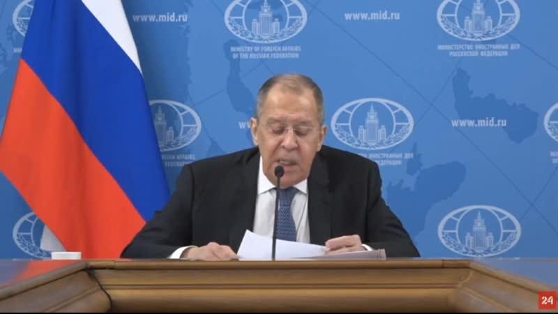 Лавров заявил что России не предъявили никаких вещественных доказательств якобы отравления Навального